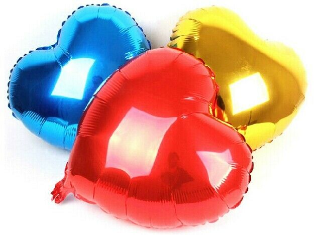 Heart shape Christmas Wedding Party Festival Helium hydrogen Foil Ballons