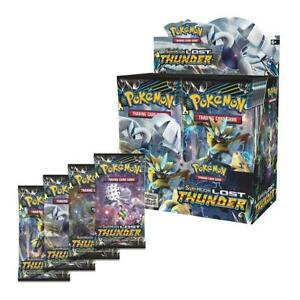 36-Booster-Pack-Pokemon-TCG-Sun-amp-Moon-Lost-Thunder-Booster-Box-Inklusive-toy-Gift