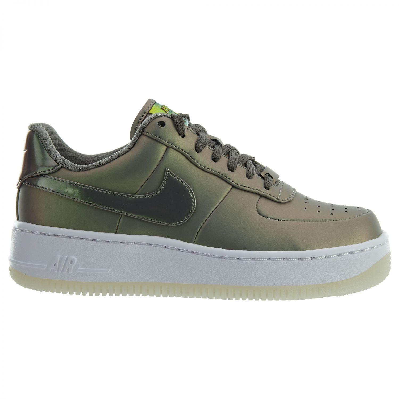 Nike Air Force 1 Upstep Premium LX Womens AA3964-001 Dark Stucco Shoes Comfortable Wild casual shoes