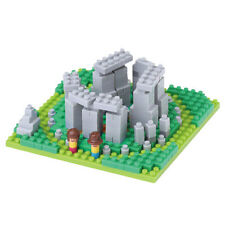 NanoBlock Stonehenge Mini Ladrillos Rompecabezas 240 piezas NBH-117 Nuevo
