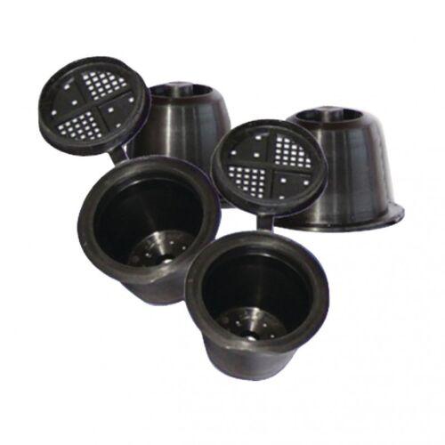 3 Stück Kaffee Capsule for Nespresso Kapsel zum selber füllen wiederverwendbar