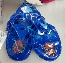 Childrens Spiderman Jellies Sandals Sizes 4.5-8.5 UK Infant NEW FREE P/&P
