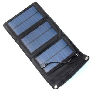 28d4c9ad4daad4 Details about New 5.5V 5W Folding Foldable Portable Solar Panel Mobile  Phone Charger Kit GA