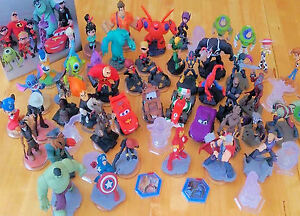Disney-Infinity-Figures-CHOICE-OF-1-0-amp-2-0-Marvel-FIGURES-work-on-3-0-also