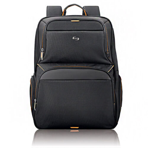 "Solo Urban Collection Thrive 17.3/"" Laptop Backpack with Pocket for Tablet"