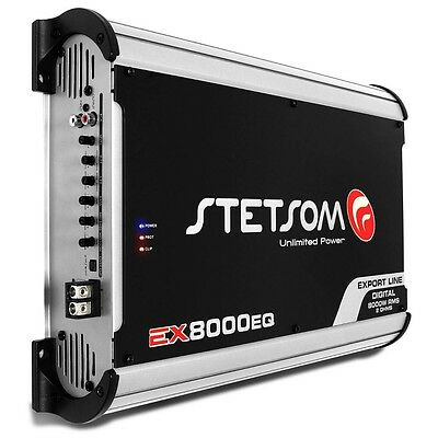 Stetsom EX 3500 1 Ohm Amplifier EX3500 3.5K Watts Car Audio Amp 3-Day Delivery