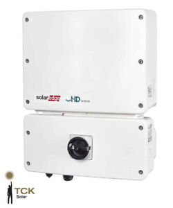 Solaredge Inverters - 5kW, 6kW, 8kW and 10kW for residential solar panel systems