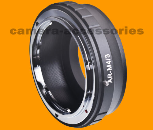 Fits Konica AR Lens to Olympus Panasonic Micro Four Thirds m4//3 Mount Adapter