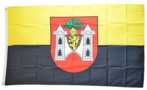 Drapeau Allemagne Ville carrée Drapeau Plauener Hissflagge 90x150cm