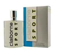 Claiborne Sport By Liz Claiborne Men 3.4 Oz 100 Ml Cologne Spray In Box on sale