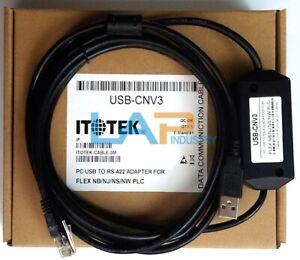 1PC-NEW-FOR-FUJI-Programming-Cable-USB-CNV3-USBCNV3