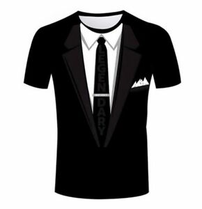 women's/men's cartoon tuxedo casual black s-5xl funny 3d print short