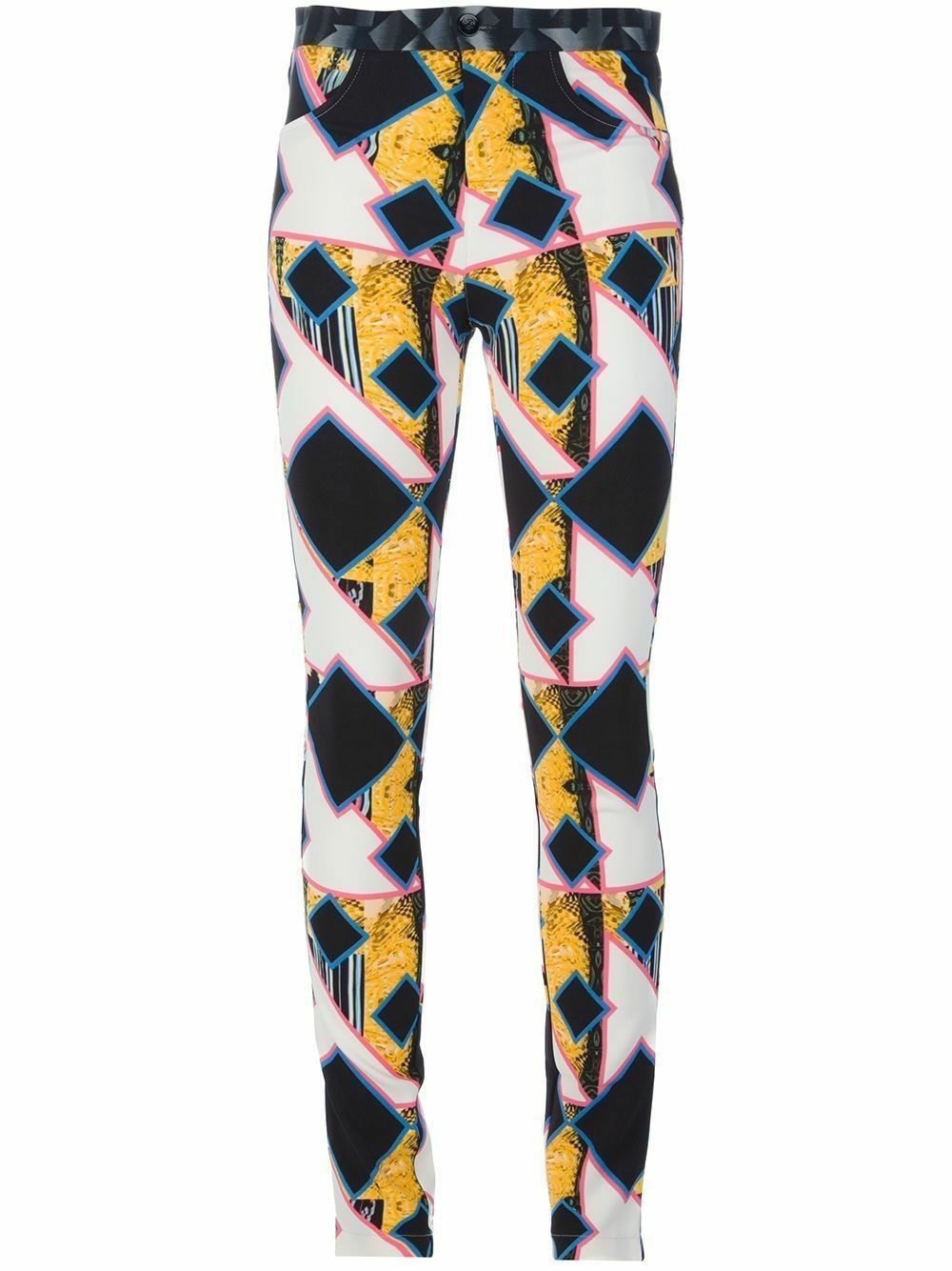 Peter Pilotto Eli shard diamond print trousers SELFRIDGES