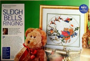 23-Christmas-cross-stitch-chart-Sleigh-Bells-Ringing-from-a-magazine