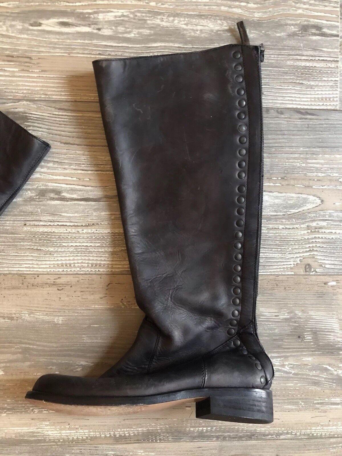 Steven by Steve Madden Women's Boot, Black Nubuck, 6 M M M US 129423