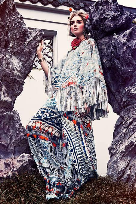 New CAMILLA TEACHER'S PET SUEDE PONCHO W  FRINGING   1300 layby availab
