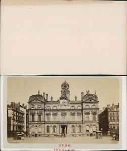 France Lyon Hotel De Ville Vintage CDV Albumen
