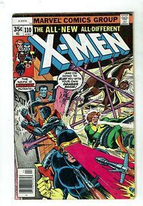 Uncanny-X-Men-110-VG-4-0-Cyclops-Wolverine-Storm-Phoenix