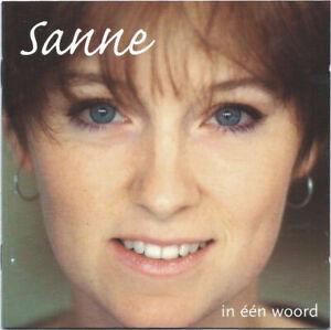 SANNE - IN EEN WOORD (12 tracks CD album 1996)