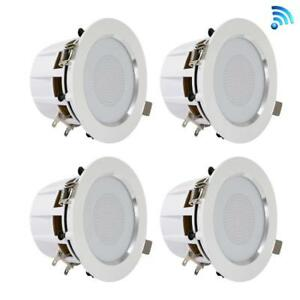 3-5-034-Bluetooth-Decke-Wand-Lautsprecher-4-2-way-Lautsprecher-mit-integrierter-LED-Licht