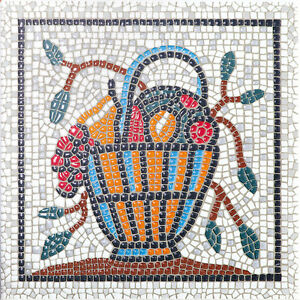 MARAZZI Mosaic effect - Fruit Basket decorative ceramic wall tile AC154/5155