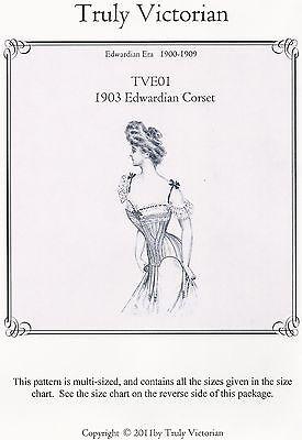 1903 Plain Blousewaist Schnittmuster Truly Victorian TVE 41