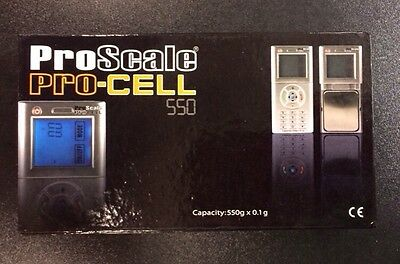 Pro Scale touch screen controls cell phone digital scale 550 X 0.1 gram backlit