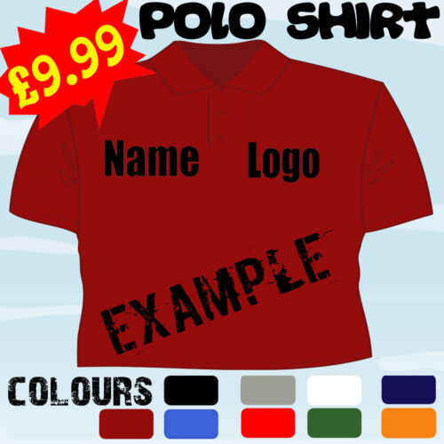 PAINTER DECORATOR BUSINESS PERSONALISED T POLO SHIRT