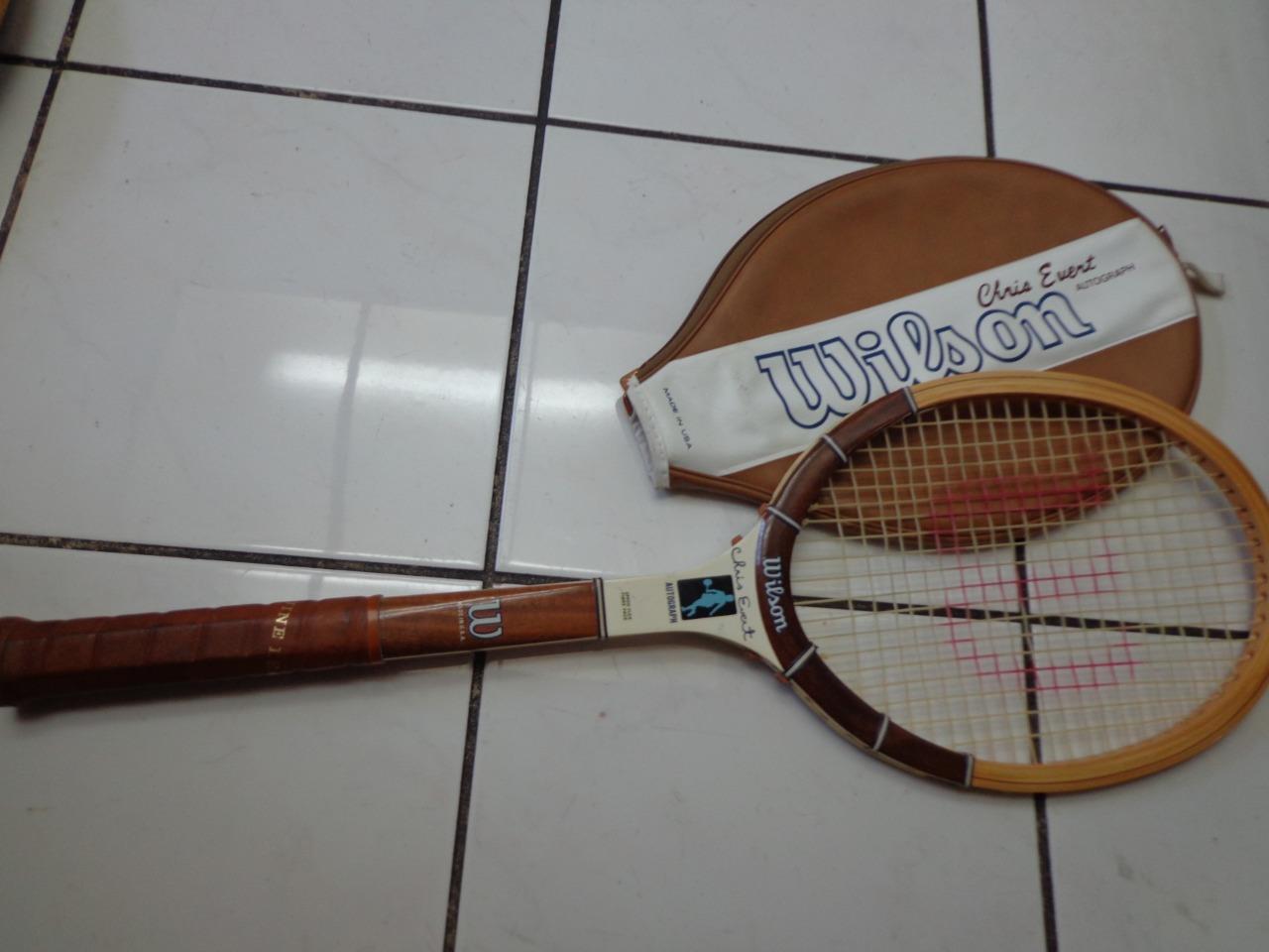Wilson Chris Egreen Autograph 4 1 2 grip Wood Wooden Tennis Racquet