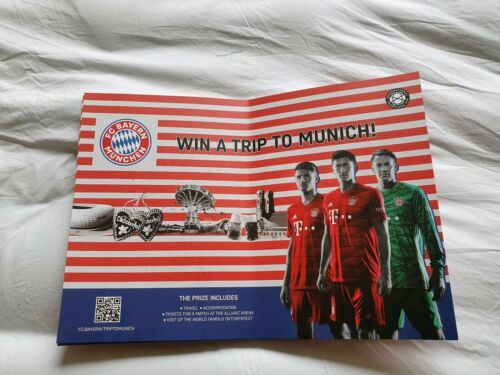 Klatschpappe FC Bayern München Audi Sommer Tour 2019 USA