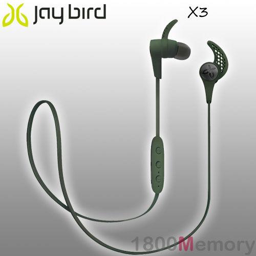 efec0c7c38c GENUINE Jaybird X3 Sport Bluetooth Wireless Buds Headset Earphone Alpha  Green