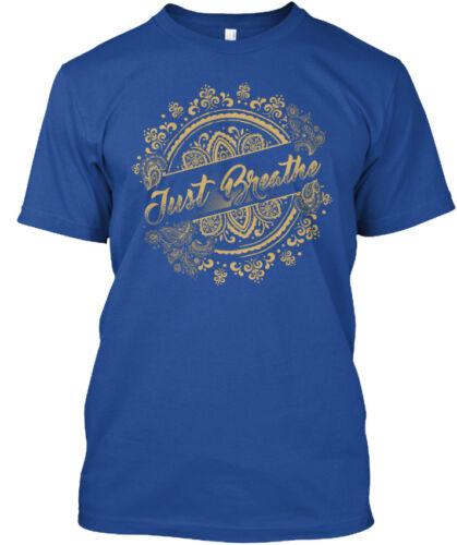 Printed Just Breathe Premium Tee T-Shirt Premium Tee T-Shirt
