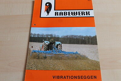 Vorsichtig 144438) Rabewerk Vibrationseggen Mit Spitzzahn-krümler Prospekt 10/1976 Hochwertige Materialien