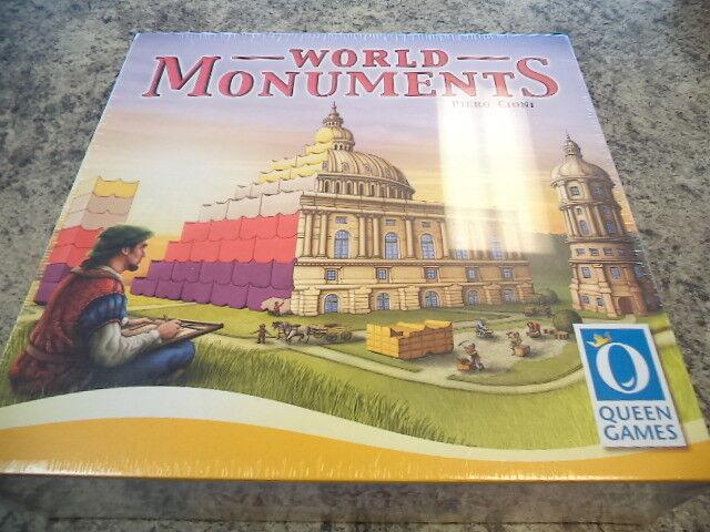 World monuments-Queen Games Jeu de plateau NEUF
