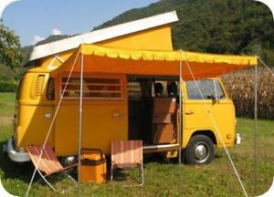Image is loading Top-Quality-Vintage-Sun-Canopy-for-VW-c&er- & Top Quality Vintage Sun Canopy for VW camper van caravan motorhome ...