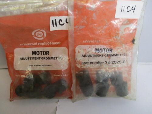12 Grommets Lau 38-2525-01 Motor Adjustment Grommet Lot 2 Bags