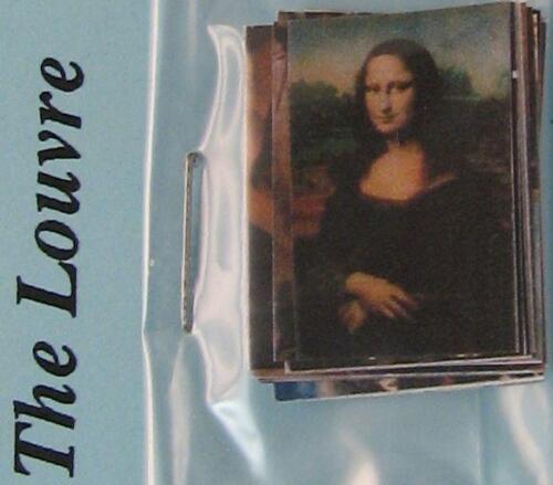 DOLLHOUSE The Louvre Photo Album /& Pictures 2155 Jacqueline/'s 1-12 gemjane