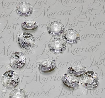 500 Stk Diamant ROSA Acryl Deko Diamanten Streudiamanten Tischdeko Hochzeit