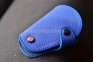 MINI-Cooper-R55-R61-clubman-coupe-countryman-ONE-S-JCW-SD-leather-case-in-Blue