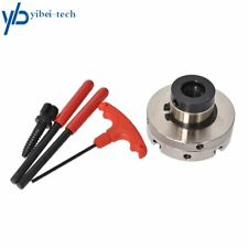 Self Centering Lathe Chuck 4 Jaw 4 Inch Set With 1 Inch X 8tpi Thread