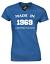 MADE IN 1969 LADIES T SHIRT FUNNY 50TH BIRTHDAY PRESENT GIFT IDEA JOKE NOVELTY
