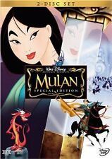 Like New DVD Mulan (Two-Disc Special Edition) (1998) WALT DISNEY CLASSIC