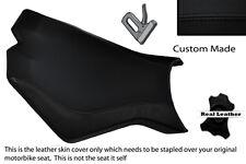 BLACK STITCH CUSTOM FITS KTM SUPERDUKE 990 R 07-12 FRONT RIDER SEAT COVER