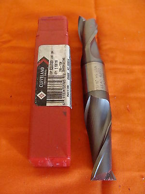 "Cleveland Twist Drill 7//16/"" Double Ended Ball Nose End Mill-NEW OLD STOCK"
