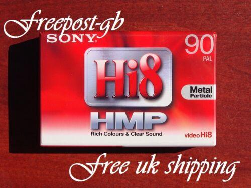 Cámara de video 3 X SONY P5-90 HMP Hi8 /& Digital 8 cintas de video de calidad//Cassettes