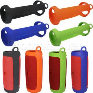 Silikon-Ersatz-Sling-Huelle-Cover-fuer-JBL-Charge3-Tragbar-Bluetooth-Lautsprecher