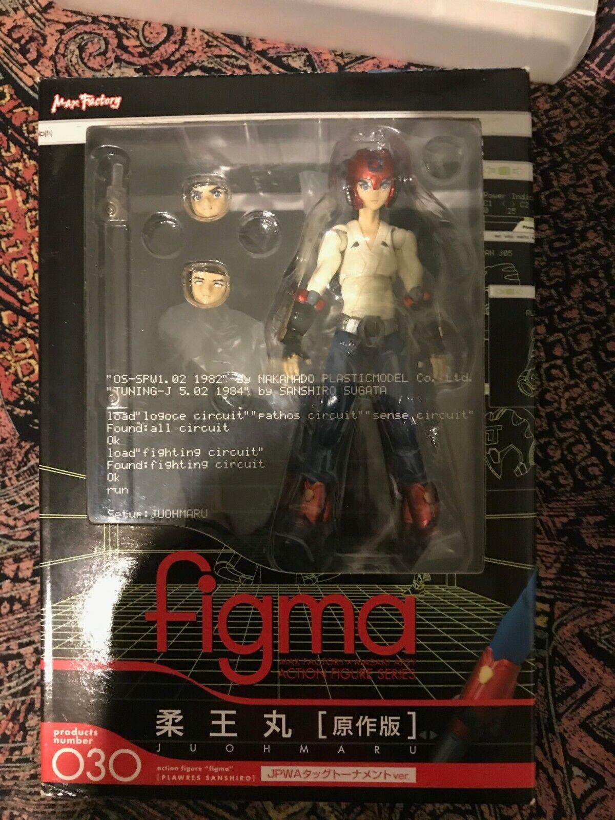 FIGMA_ 030, 031- Plawres Sanshiro - Juohmaru e Sakura Hime