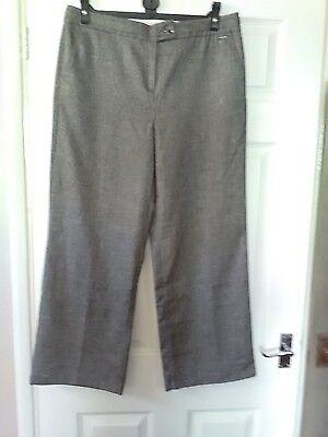 * Una Lana Per Pantaloni Taglia 14-mostra Il Titolo Originale