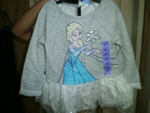 CLOSEOUT-SALE-Imported-From-USA-Disney-Frozen-Longsleeve-Top-Sz-3T