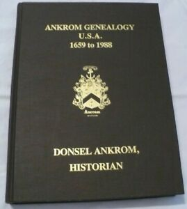 Ankrom-Genealogy-U-S-A-1659-to-1988